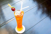 Buz earl grey çay — Stok fotoğraf