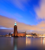 Stockholm City Hall Sweden — Stock Photo