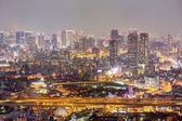 Osaka noc — Stock fotografie