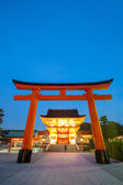 Fushimi inari relikwie kyoto — Stockfoto