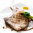 Stock Photo: Pork chop