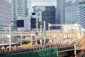 Railway in tokyo — Photo