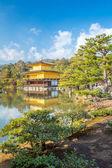Kinkakuji Temple in Kyoto Japan — Stock Photo