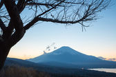 Sunset fujisan — Stock Photo