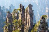 Zhangjiajie National forest China — Stock Photo