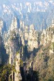 Zhangjiajie National forest park China — Stock Photo