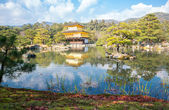 Kinkakuji Temple in Kyoto — Stock Photo