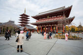 Sensoji chrám — Stock fotografie