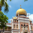 Singapore masjid Sultan — Stock Photo