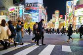 Shibuya Crossing — Stock Photo