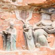 Rock Carving Baodingshan Dazu China — Stock Photo