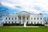 Het witte huis — Stockfoto