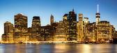 Panorama of New York City — Stock Photo