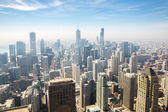 Chicago aerial — Stock Photo