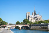 Cathedral Notre Dame Paris — 图库照片