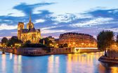 Notre Dame Cathedral Panorama — Photo