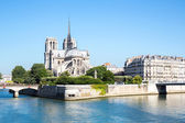 Notre Dame Cathedral Paris — 图库照片