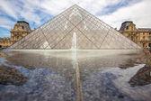 Museo del louvre paris — Foto de Stock