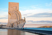 Monument to the discoveries Lisbon — Stock Photo