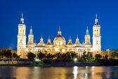 Basilica Cathedral Zaragoza Spain — Stock Photo