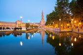 Spanish Square Seville — Stock Photo