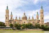 Basilica of Zaragoza Spain — Stock Photo