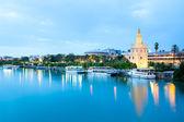 Golden Tower Seville, Spain — Stock Photo