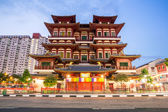 Singapore buddha tooth relic temple — Stock Photo