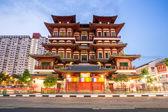 Singapore buddha tooth relic temple — Stock Photo
