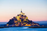 Mont Saint Michele — Stock Photo