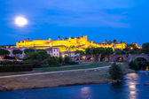 Carcassonne Ancient Town France — Stock fotografie