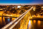 Dom Luiz bridge Porto — Stock Photo