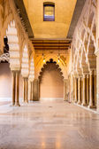 Zaragoza alcazar Corridor — Stock Photo