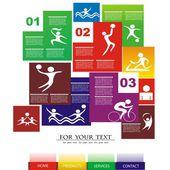 Sport vector illustration — 图库矢量图片
