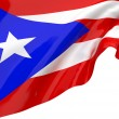 Vector Flags of Puerto Rico — Stock Photo #12192939