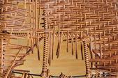 Broken background pattern weave — Stock Photo