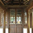 Stock Photo: Chinese old wooden door