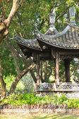 Oriental pavilion in the park — Stock Photo