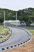 Go Kart Racecourse — Stock Photo