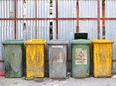 脏垃圾坦克 — 图库照片