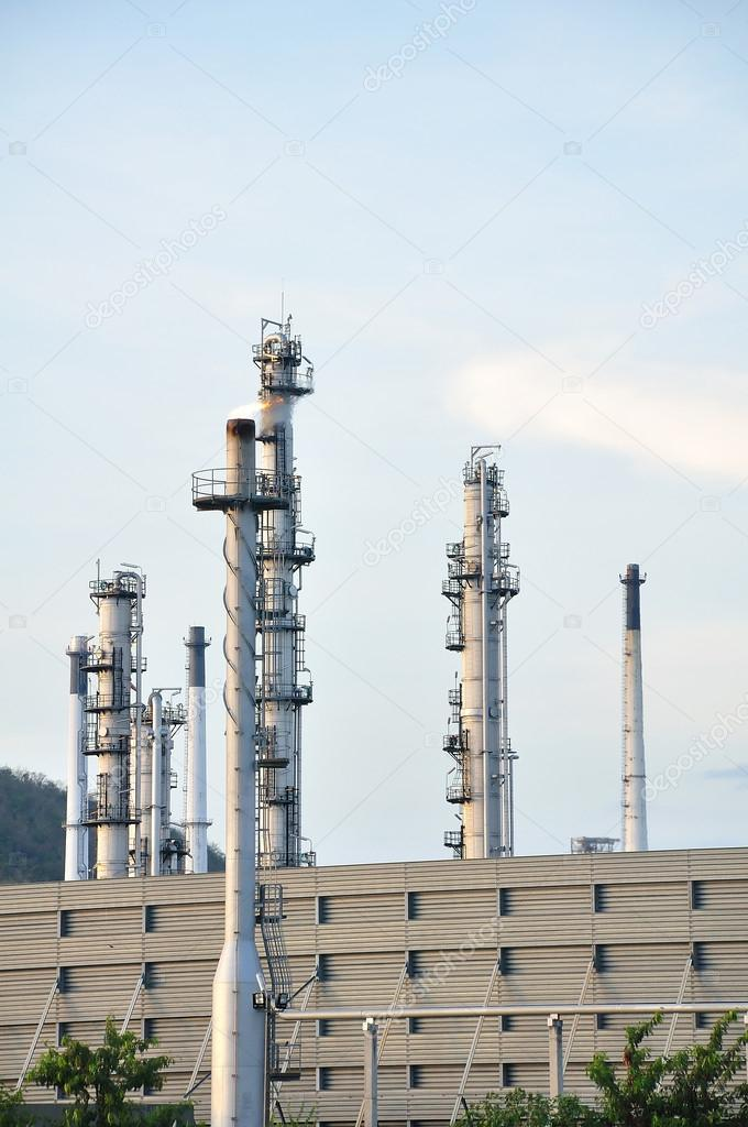 Petrochemical plant — Stock Photo #12654643