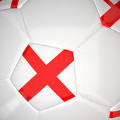 Fútbol en 3d — Foto de Stock