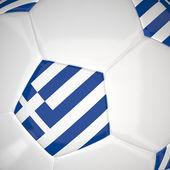 3d футбол — Стоковое фото
