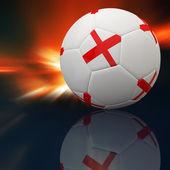Calcio in 3d — Foto Stock