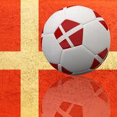 3d piłkarski — Zdjęcie stockowe