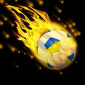 3d Football — Zdjęcie stockowe