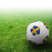 3d-fotboll — Stockfoto