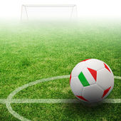 3d fotbal — Stock fotografie