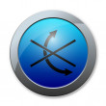 Button of Logistics icon — Stock Photo