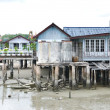 Stock Photo: Fisherman's houses